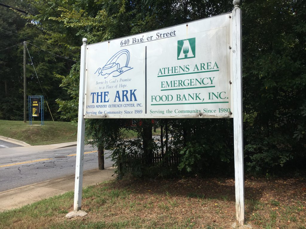 The Athens Area Emergency Food Bank is located on 640 Barber St. and is open from 9 a.m. to 1 p.m. Monday through Friday