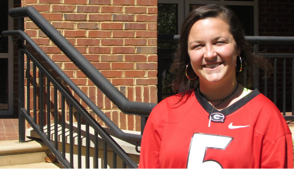 Darby Miller has worked with the Fanning Institute to bring Destination Dawgs to UGA.