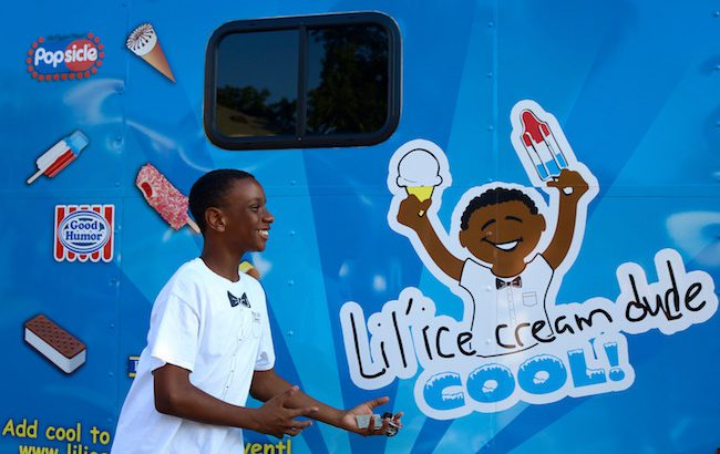Lil' Ice Cream Dude Sweetens Athens